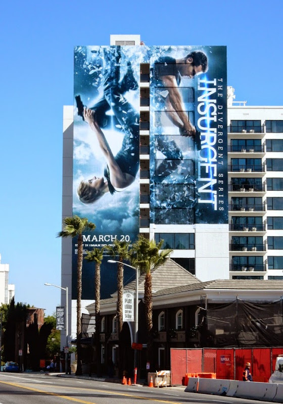 Insurgent movie billboard