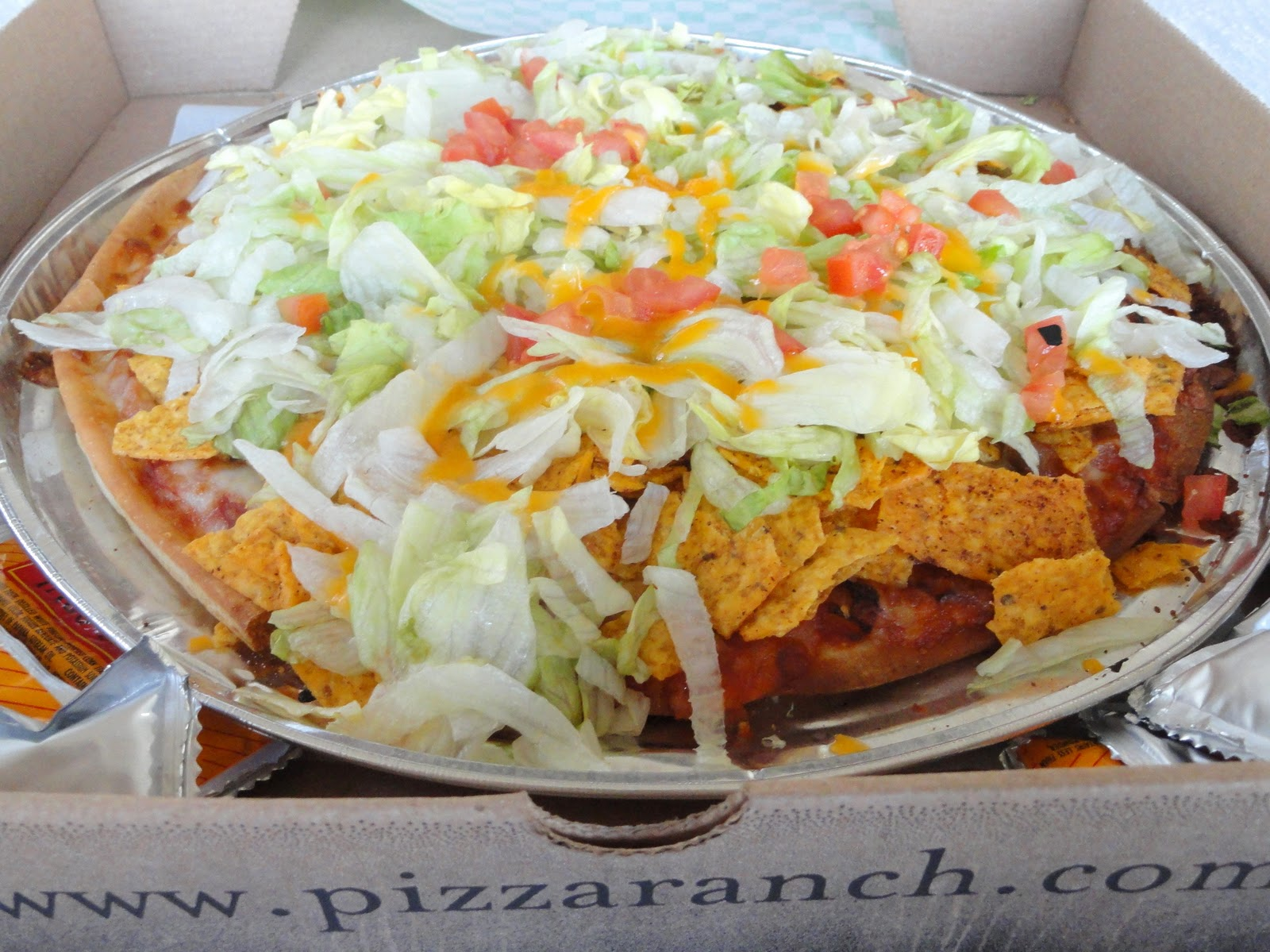 As Good As Gluten: Pizza Ranch - Gluten-Free Taco Pizza