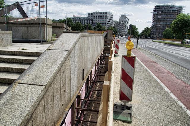 Baustelle Bibliothek des Ibero-Amerikanischen Instituts Preußischer Kulturbesitz, Potsdamer Straße 37, 10785 Berlin, 13.07.2013