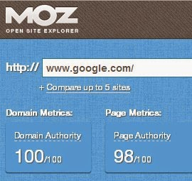 Cara Mengetahui Page Authority dan Domain Authority