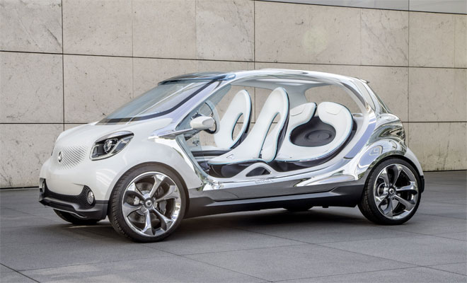 2013 Smart FourJoy concept car