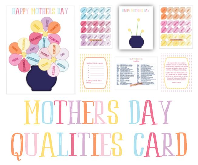 Mother's Day Card - Serving Others