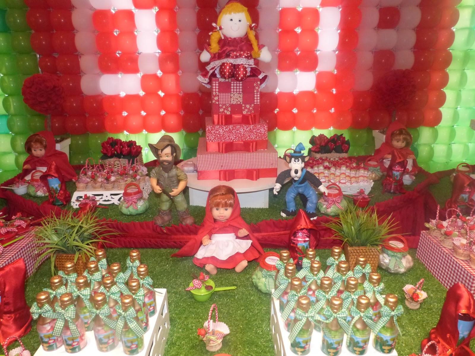 Decoracao De Aniversario Da Minnie Com Balao Rosa Com Vermelho Real ...