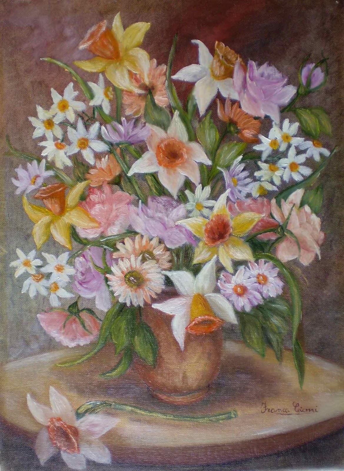 Franca cioni dipinti e poesie fiori primaverili - Fiori primaverili ...