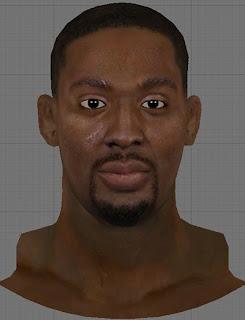 NBA 2K13 Andray Blatche Cyberface Patch