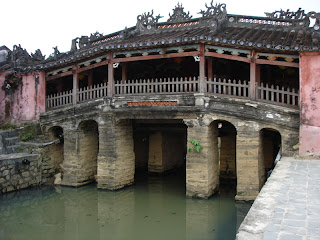 Le pont-pagode japonais Chua Cau