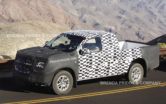 Spy Photos 2014 Chevy Colorado and GMC Canyon
