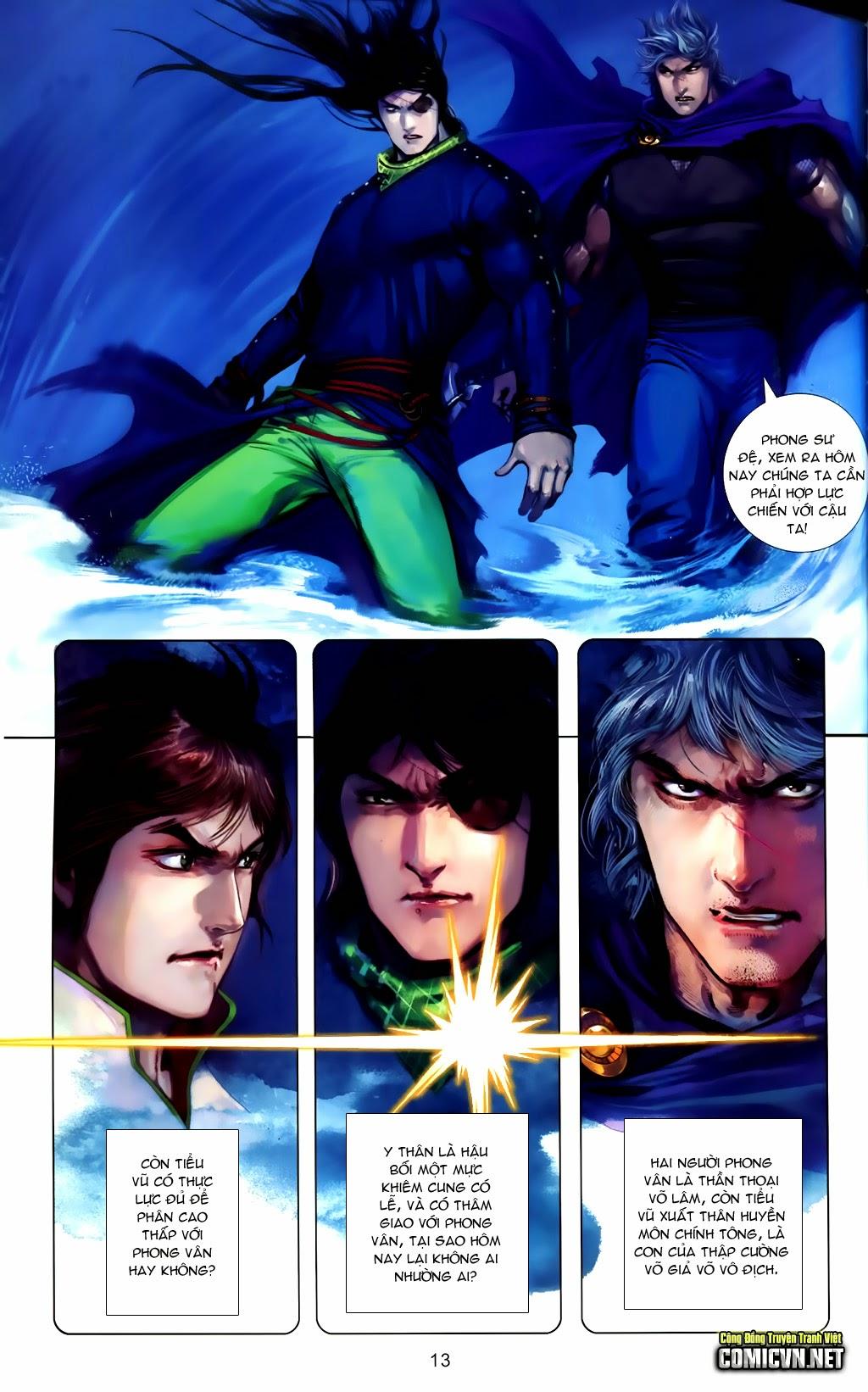 Phong Vân Chap 663 - Trang 13