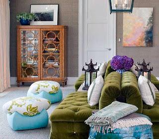 En La Decoracin Vintage El Mobiliario Ideal Es El De Los Aos
