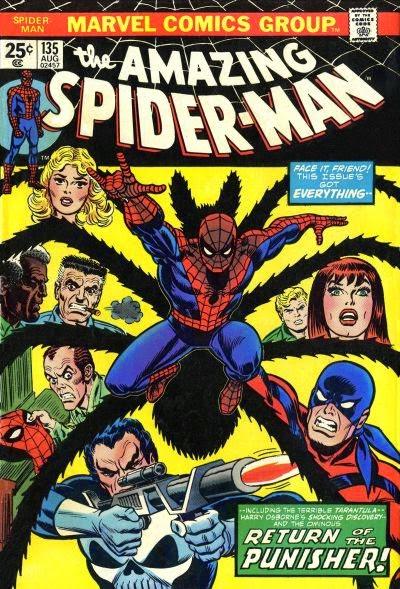 Amazing Spider-Man #135, the Tarantula and the Punisher