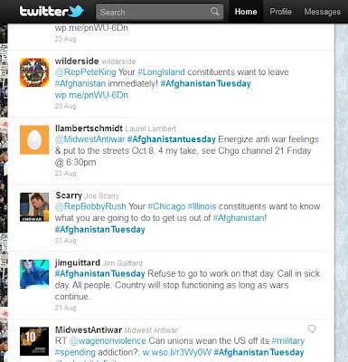 #AfghanistanTuesday tweets