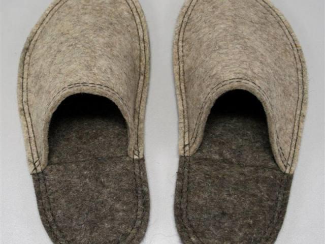 Como hacer pantuflas facil de fieltro