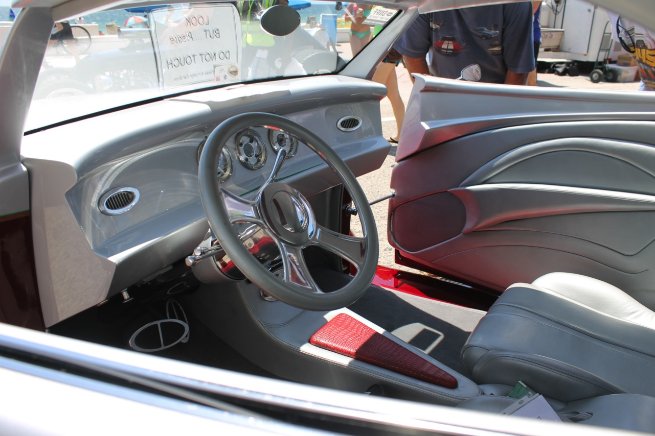 Custom Muscle Car Interior Beach Party Muscle Car And