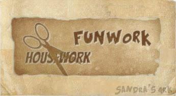 Housework, Funwork, Organising, Storage and Decluttering at Sandra's Ark Blog