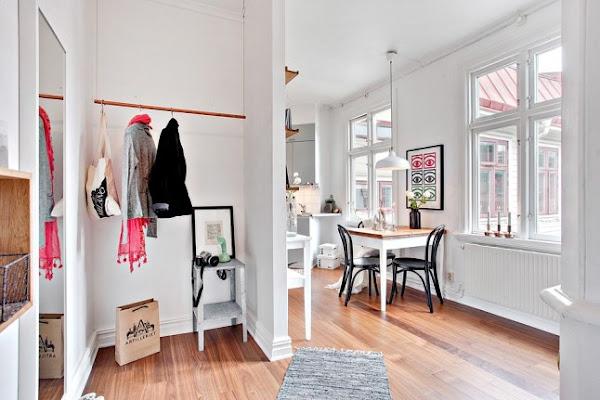 Pasillo en blanco y gris decorar tu casa es for Corredor deco blanco y gris
