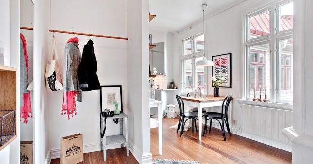 Decorar un piso n rdico con una distribuci n irregular for Arredamento nordico low cost