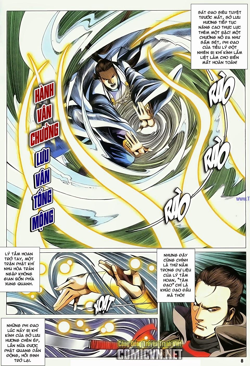 Cổ Long Quần Hiệp Truyện chap 84 Trang 8 - Mangak.info