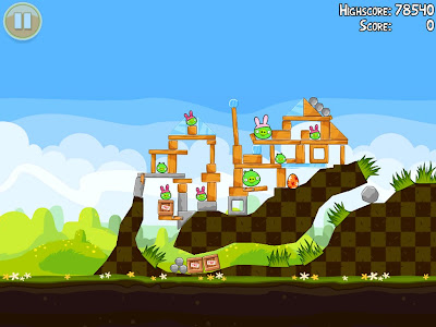 Angry Birds Seasons receberá atualização comemorando a Páscoa