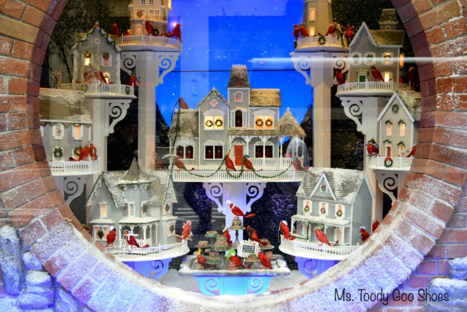 New York City  is magical during the holidays! Ms Toody Goo Shoes