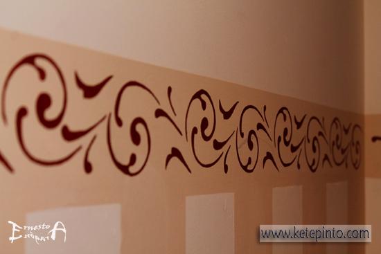 Cenefas para pintar pasillos