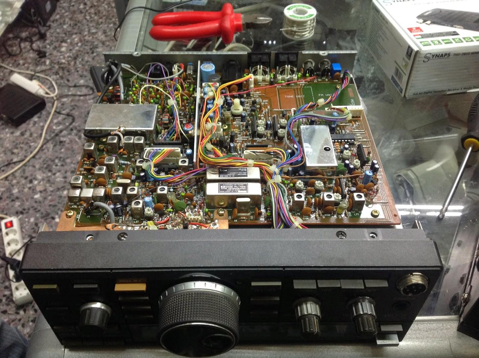 Sv5byr Icom Ic 725 Panadapter Mod