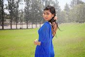 Neelam Upadhyay pics in Blue saree-thumbnail-11