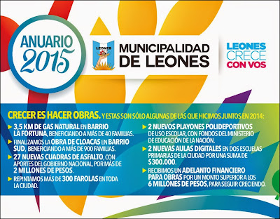 ESPACIO PUBLICITARIO: MUNICIPALIDAD DE LEONES