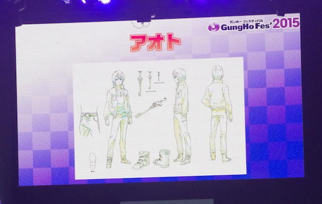 Divine Gate Anime personajes
