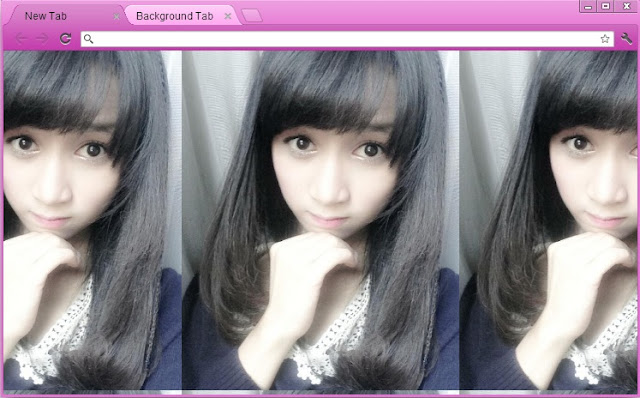 Download Theme Google Chrome Ayana Shahab JKT48