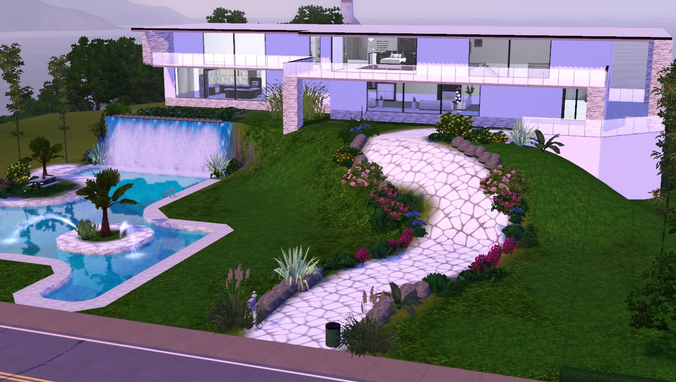 The sims giuly download e tutorial di the sims 3 pool for Sims 4 piani di casa
