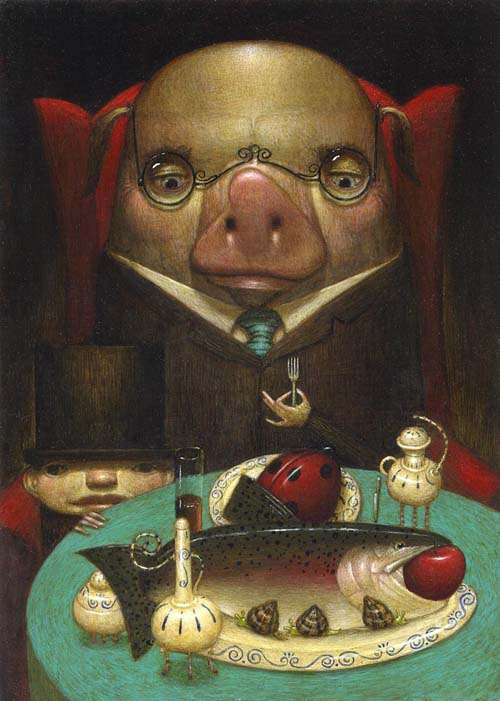 bill carman pig out
