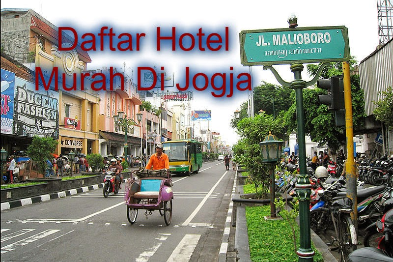 Hotel Di Jogja Tarif Murah
