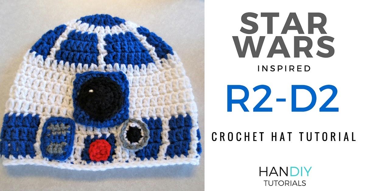 Handiy Tutorials R2 D2 Droid Crochet Hat Tutorial Inspired By Star Wars