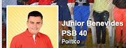 Júnior PSB 40 no Facebook