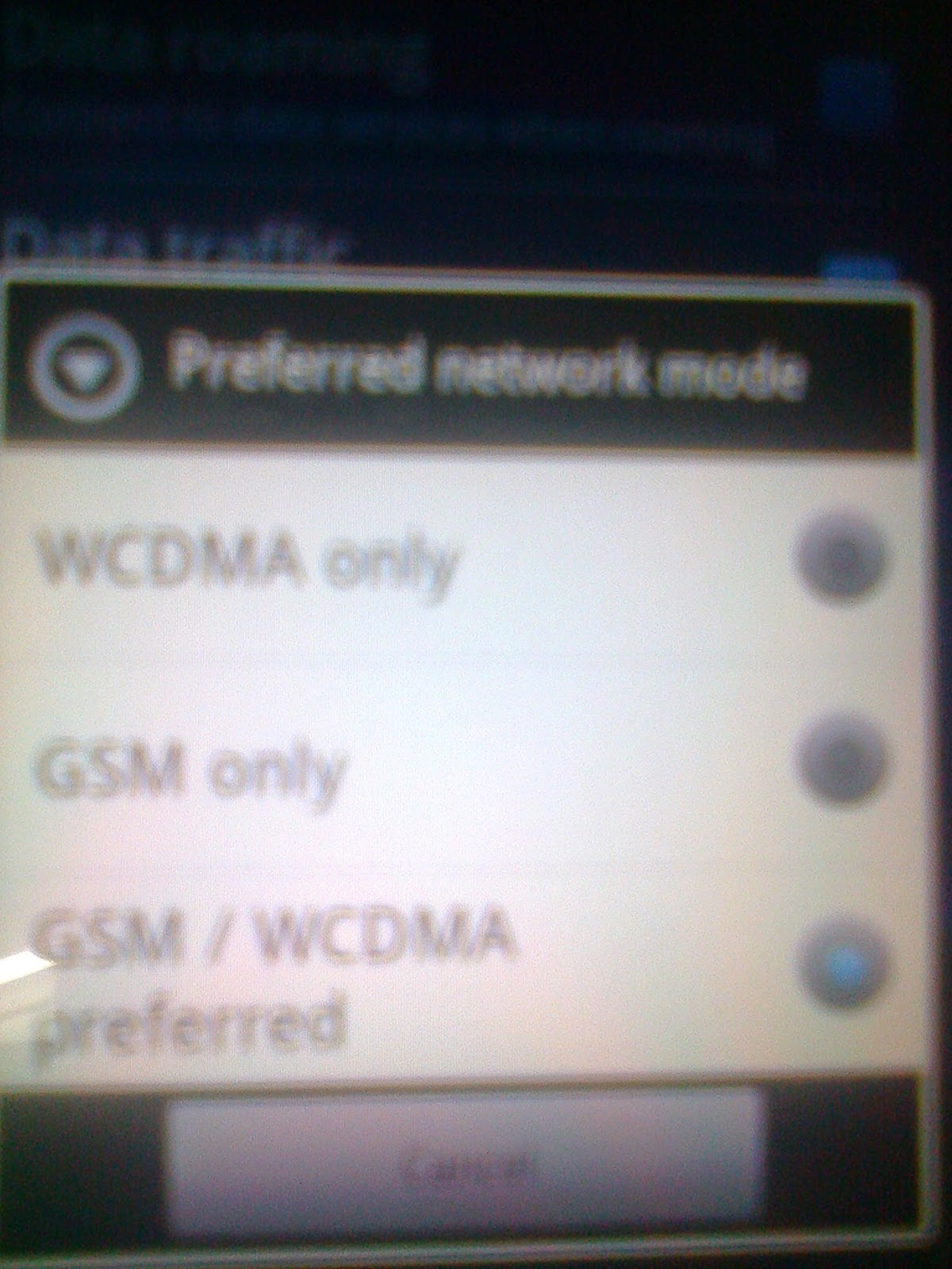 WCDMA HSPA Settings Pakistan