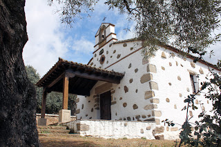 Ermita Ntra. Sra. de la Fuente Santa. Parrillas. Toledo.