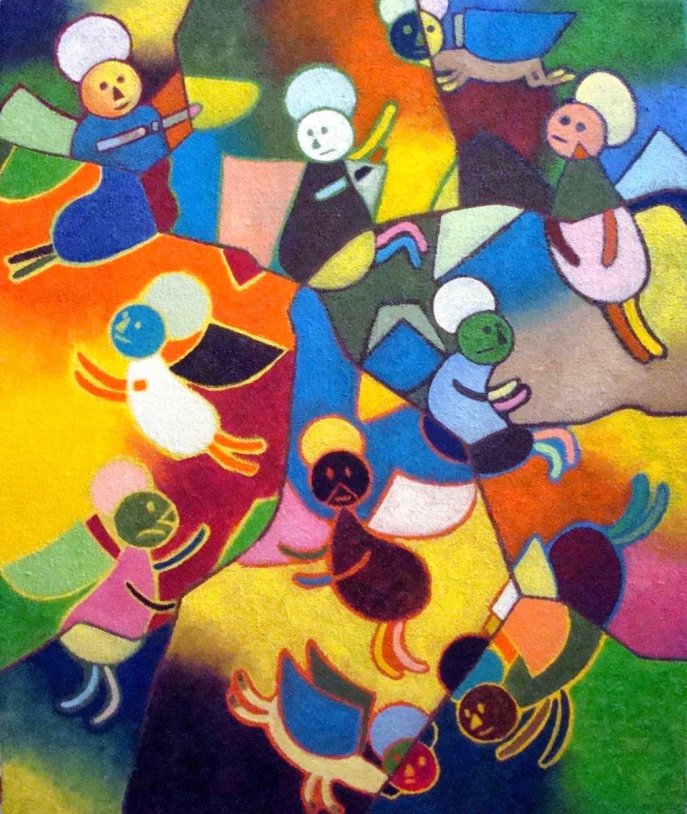 david kantorovitz art naif - outsider art magazine gricha rosov