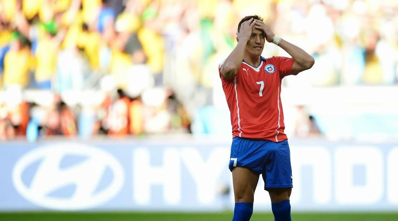 Brasil vs Chile 2014