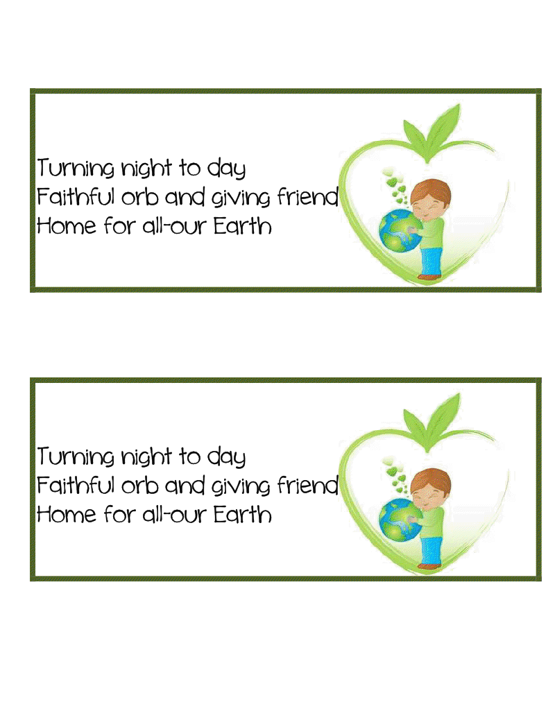 earth day poems for kids - photo #7