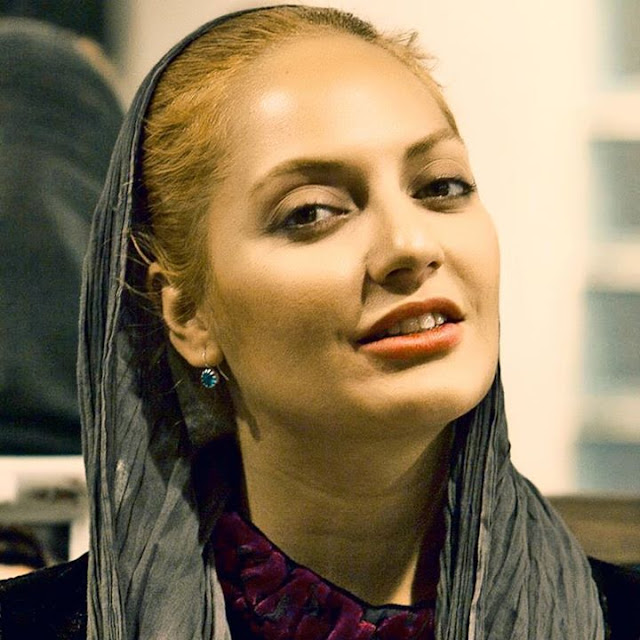 Iranian tv celebrity Mahnaz Afshar