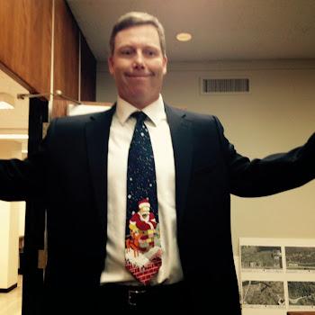 Festive Joe Butler Dons Homer Simpson Tie