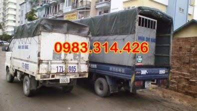 thuê xe tải 2 tấn có lái giá rẻ