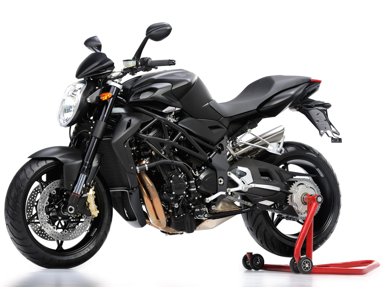 Mv Agusta Brutale Motorcycle Photos