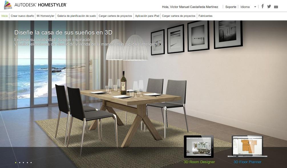 La nube autodesk homestyler - Disenar interiores online ...