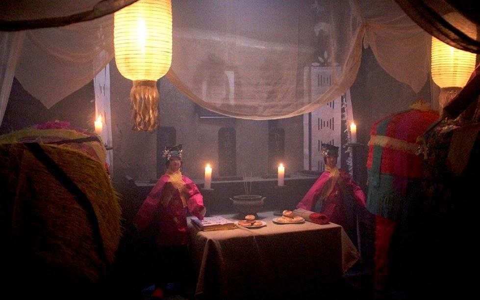Kì bí cùng với một ngôi làng ma Phong Môn qua Ngôi làng tử khí.