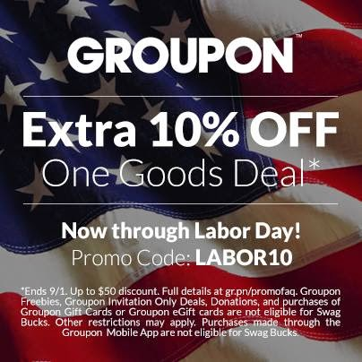 Canadian Daily Deals Groupon Coupons 10 Off Labour Day Discount Code