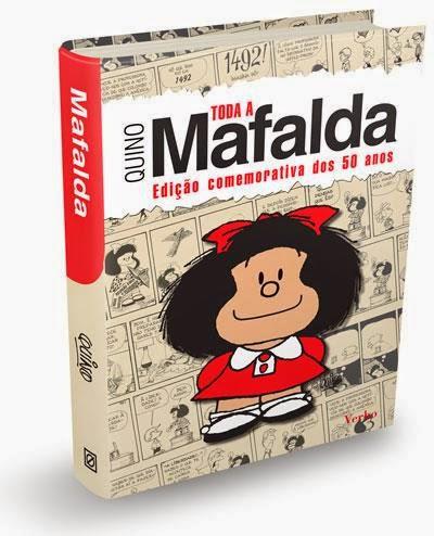 Prenda de Natal - Mafalda de Quino - banda desenhada - humor BD