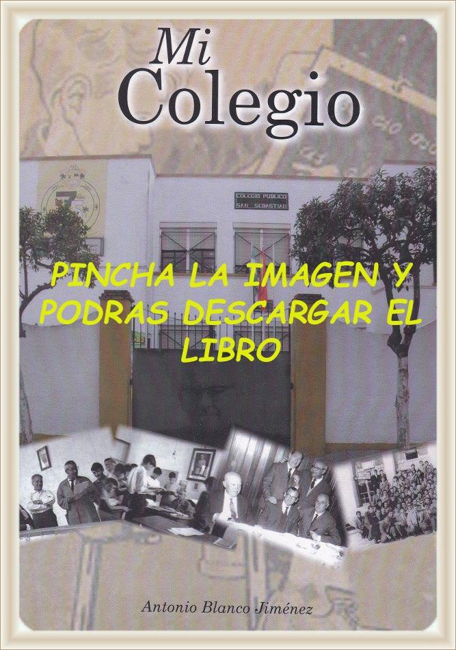 """Descarga gratis del libro """"MI COLEGIO"""""""