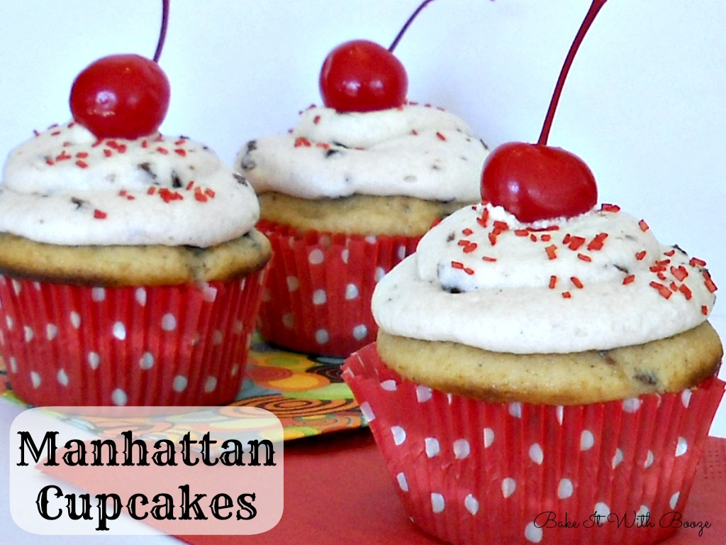 Recipe: Manhattan cupcakes with Tullamore D.E.W.