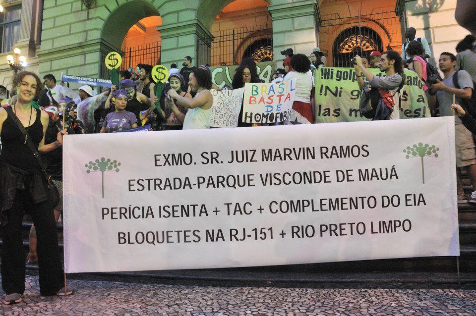 Campanha Bloquetes em Itatiaia